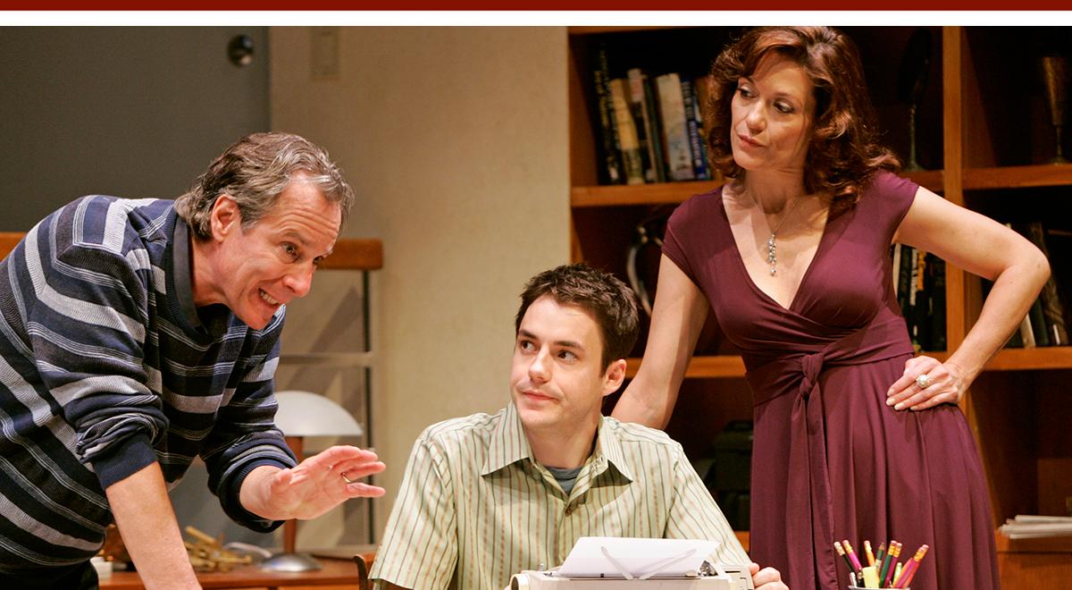 Robert Desiderio, John Sloan and Shannon Cochran in David Wiener's 'System Wonderland' at SCR