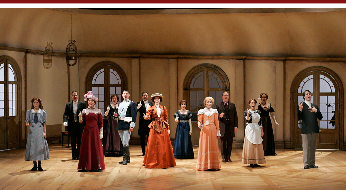 The cast of South Coast Repertory's 'A Little Night Music.'