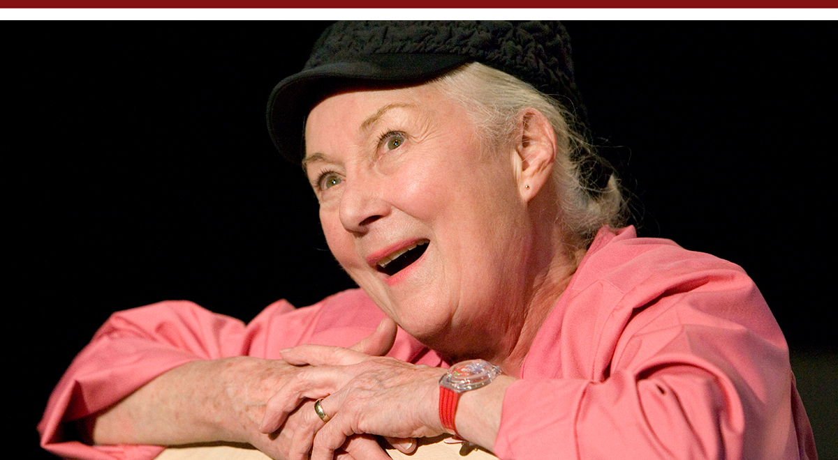 Rosemary Harris in 'Oscar and the Pink Lady' at The Old Globe
