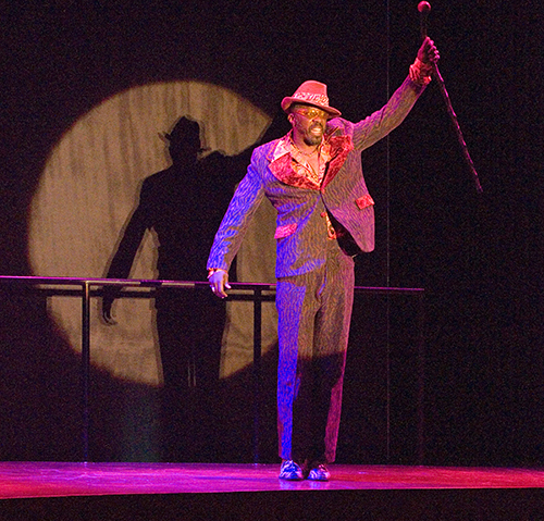Edwin Lee Gibson in 'The Seven' at the La Jolla Playhouse. Photo by J.T. Macmillan
