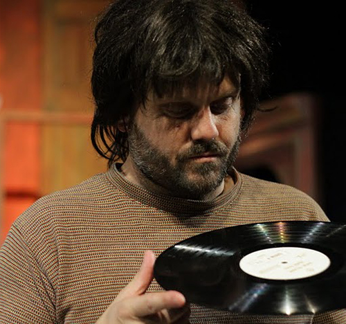 Benjamin Burdick in 'Rock and Roll' at Open Fist Theatre. Photo by Tom Burruss