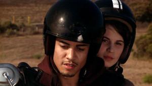Rick Gonzalez and Amelia Rose Blaire in Steve Albrezzi's 'Commencement'
