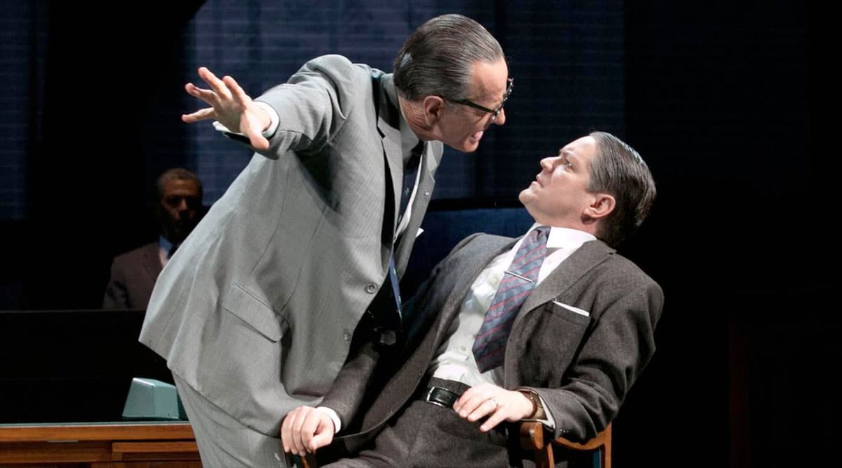 Bryan Cranston as LBJ in Broadway's 'All the Way,' directed by Bill Rauch