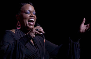 Dianne Reeves performing in Harlem