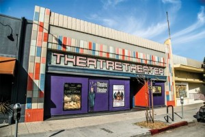The Theatre Theater storefront on West Pico.