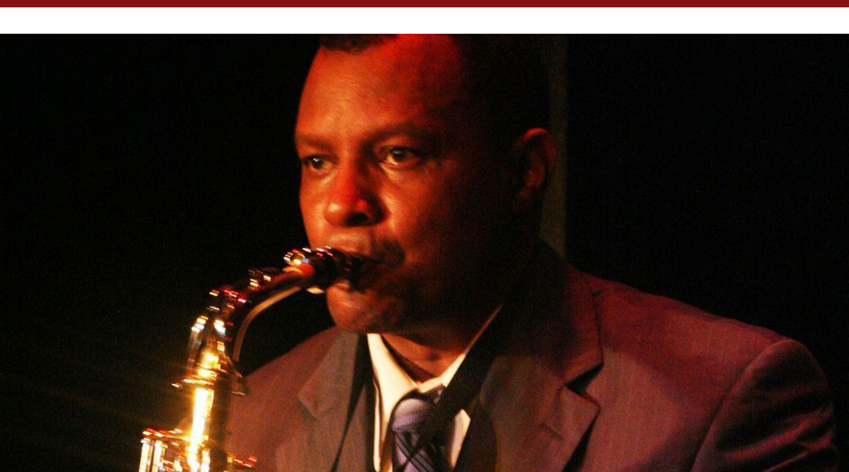 Montae Russell as Charlie Parker in 'Bird Lives'