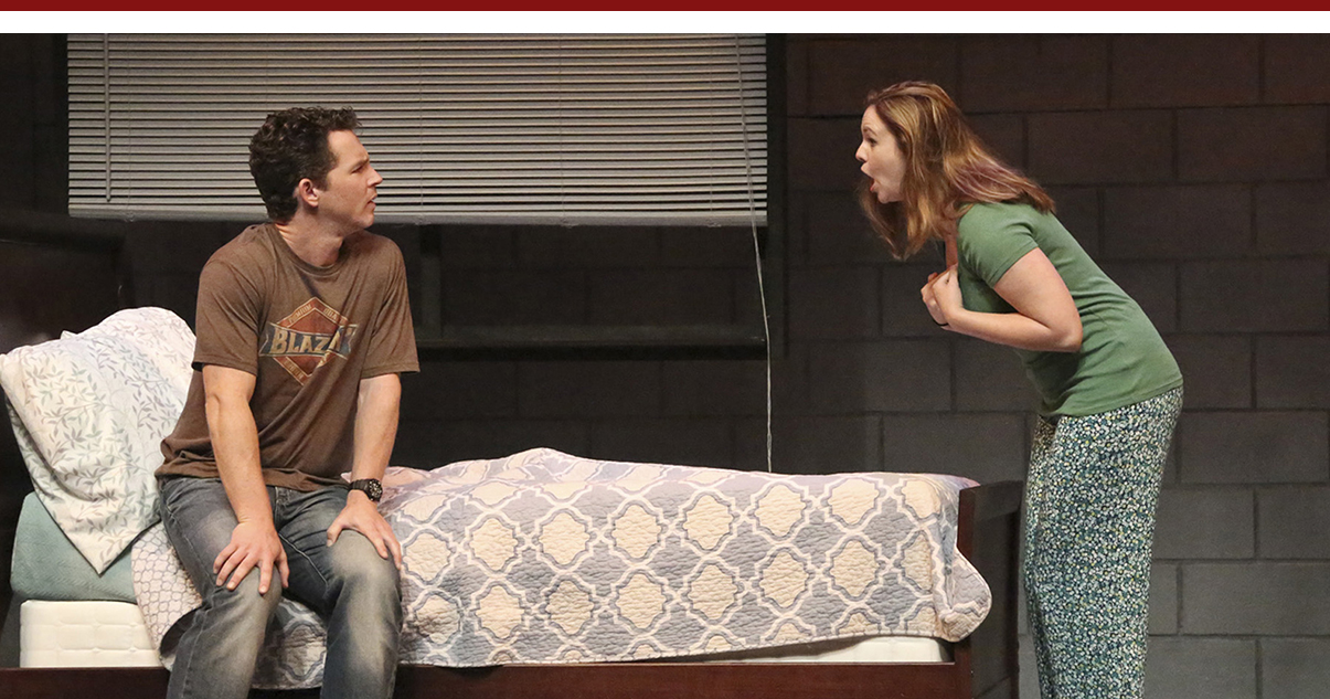 Shawn Hatosy and Amber Tamblyn in Reasons to Be Pretty