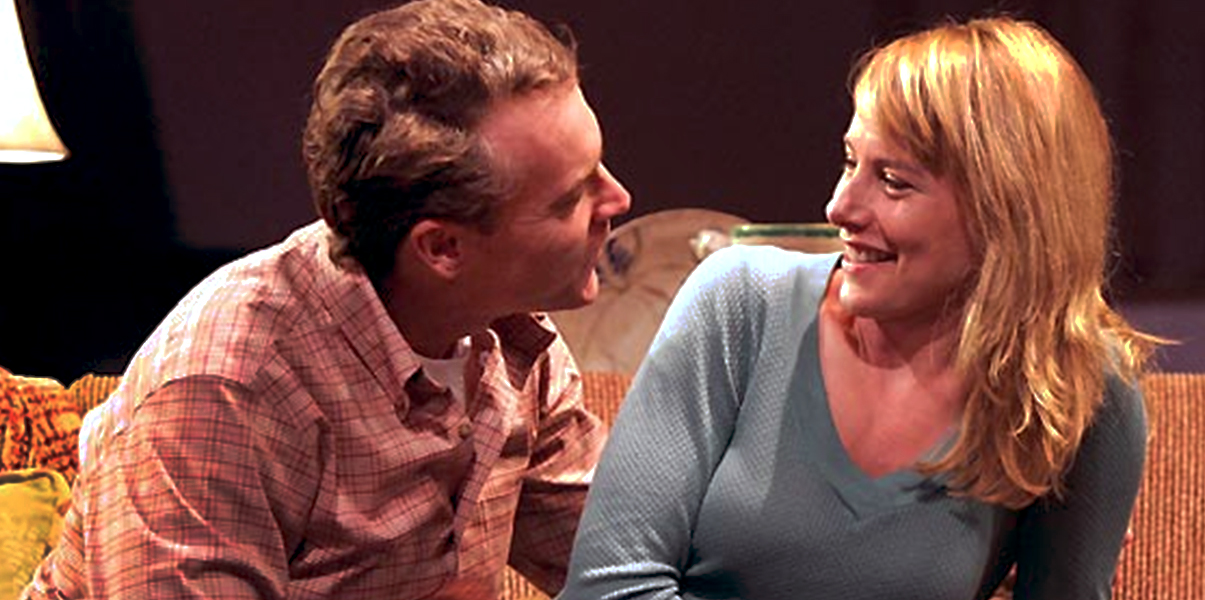 Tate Donovan and Amy Ryan in 'Rabbit Hole' at the Geffen Playhouse