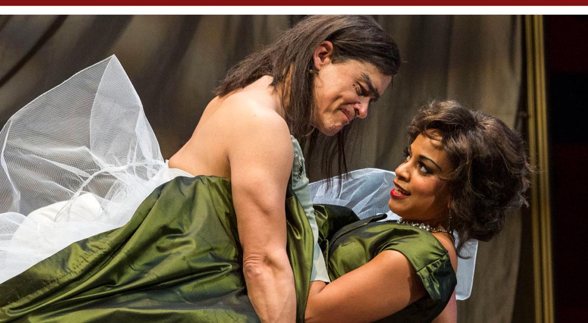 Freddy Douglas and Carolyn Ratteray in Tartuffe
