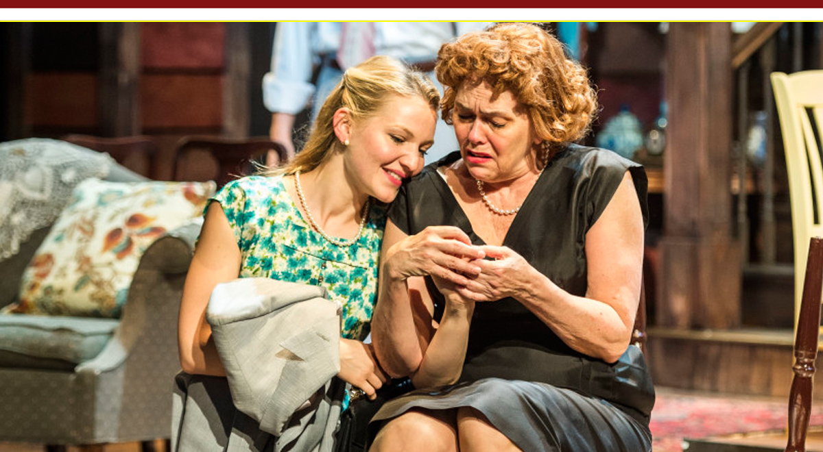 Lili Fuller and Deborah Strang in Come Back, Little Sheba at A Noise WIthin