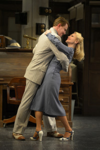 "Douglas Sills and Jenn Lyon in ""His Girl Friday"""