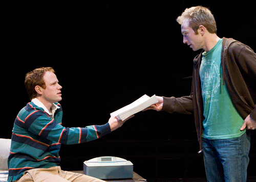 Gideon Banner and Sean Dugan in The Four of Us at The Old Globe