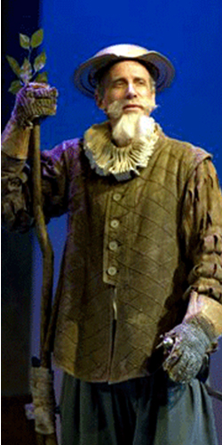 Geoff Elliott as 'The Man of La Mancha' at A Noise Within