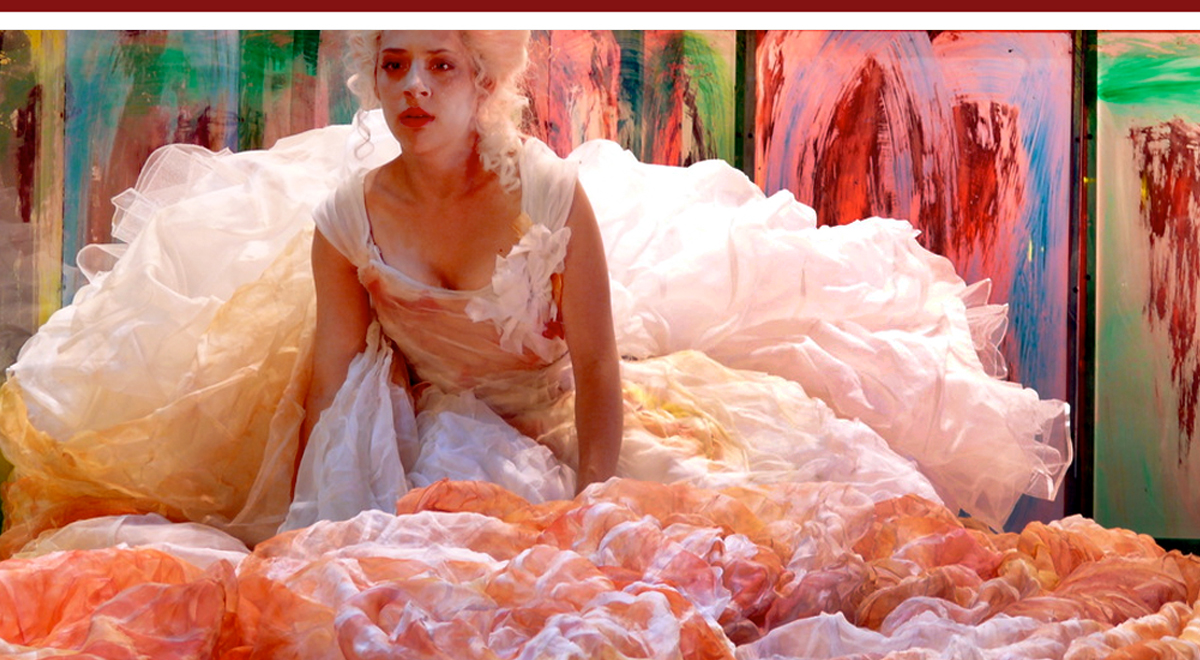 Emily Gunyou Halaas in 'The Deception' at the La Jolla Playhouse. Photo by J.T. Macmillan