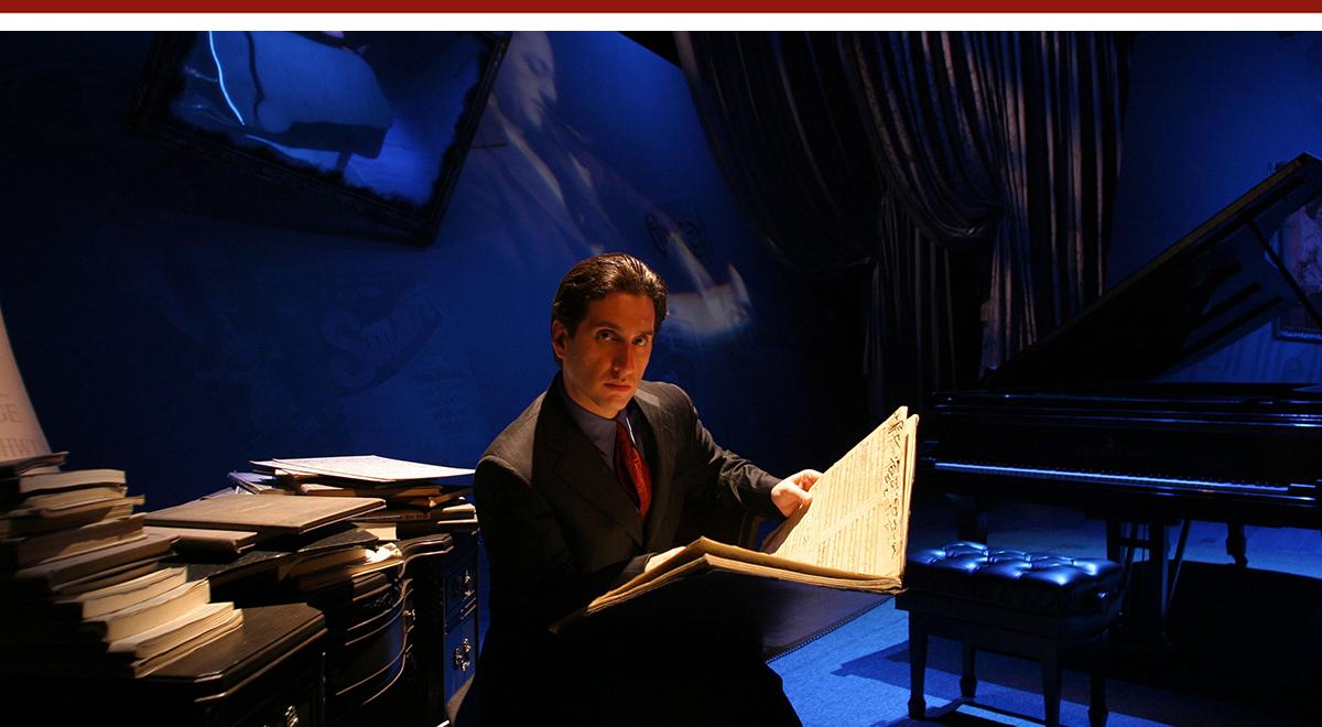 Hershey Felder in 'George Gershwin Alone' at the Laguna Playhouse