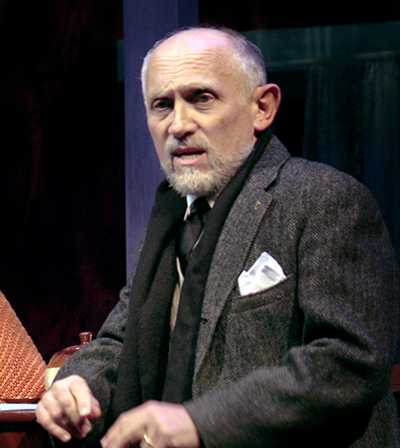 Armin Shimerman in 'The Road to Mecca' at San Diego Rep. Photo by Daren Scott