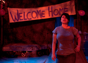 Brenda Banda in Julie Marie Myatt's 'Welcome Home, Jenny Sutter.' Photo by Doug Catiller