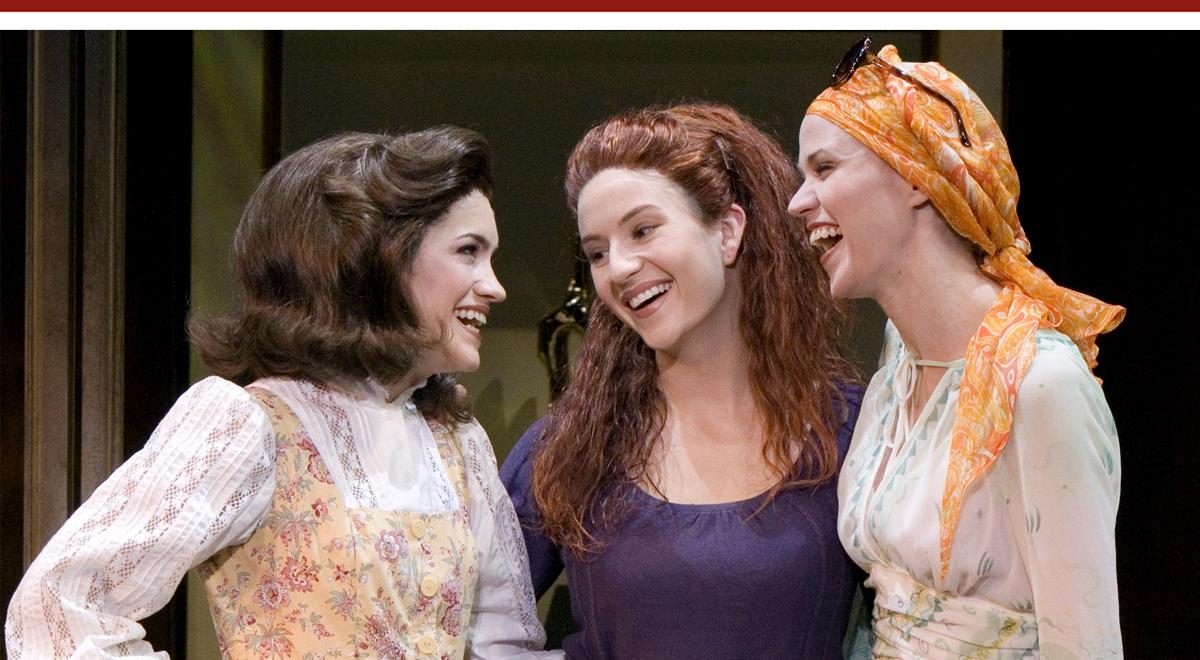 Lauren Kennedy, Sarah Stiles, Anneliese van der Pol in 'Vanities' at Pasadena Playhouse. Photo by Craig Schwartz