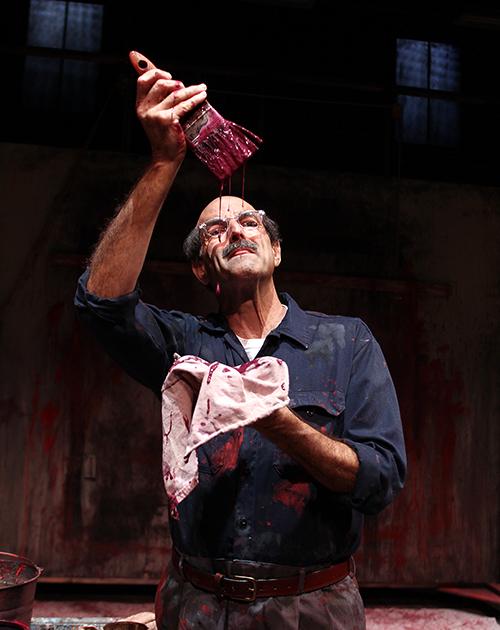 Mark Harelik in John Logan's 'Red' at South Coast Repertory. Photo by Debora Robinson