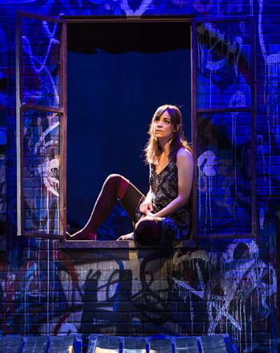 Donnla Hughes as Juliet in A Noise Within's 'Romeo and Juliet,' directed by Damaso Rodriguez. Photo by Craig Schwartz