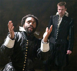 Chiwetel Ejiofor and Ewan McGregor in Michael Grandage's Donmar Warehouse production of 'Othello.'