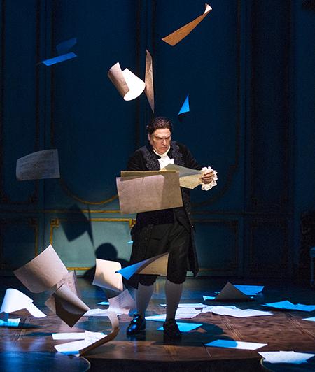 Marco Barricelli as Antonio Salieri in South Coast Repertory's 'Amadeus.'