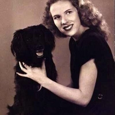 Betty Bob Buckley, Betty Buckley's mother, from her Twitter page