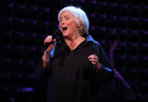 Betty Buckley performing her cabaret act