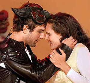 Adam Scott, Susannah Schulman, 'Romeo and Juliet' at Cal Shakes in 2001. Photo by John O'Hara / SF Chronicle