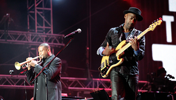 Sean Jones and Marcus Miller