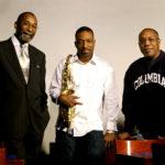 Donald Harrison, center, with Ron Carter and Billy Cobham
