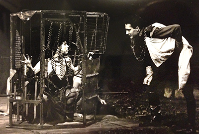 Titus Andronicus at Shakespeare Santa Cruz (1988). Photo by Ann Parker