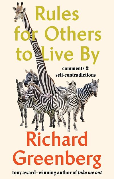 Cover of Richard Greenberg's 'Rules for Others to Live By'