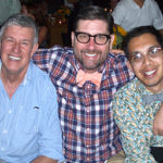 Michael Edwards, Mark Rucker and Everett Pelayo, October 2011