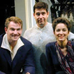 Douglas Sills, Mark Rucker, Nike Doukas pre-Much Ado About Nothing. Photo by Cristofer Gross