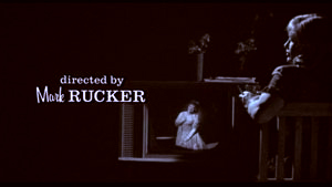 Opening credits title for Mark Rucker