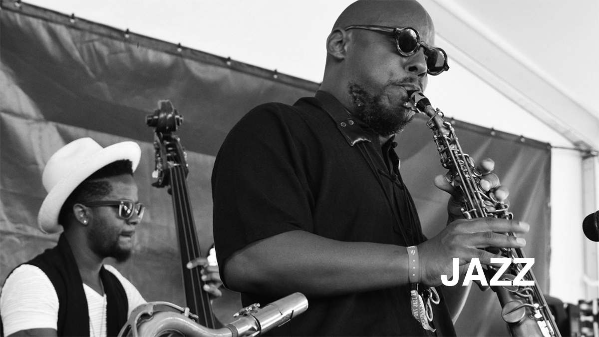 Jazz Landing page banner image of Ben Williams and Marcus Strickland