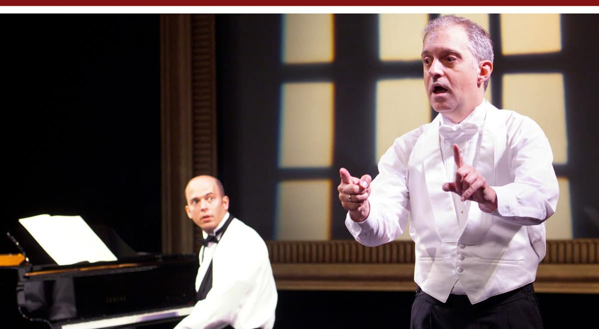 Tom Frey and Richard Carsey in Two Pianos, Four Hands
