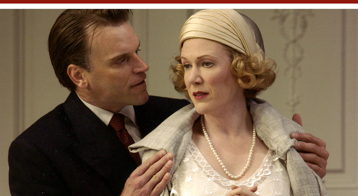 J. Paul Boehmer and Henny Russell in 'The Constant Wife' at the Old Globe. Photo by Craig Schwartz