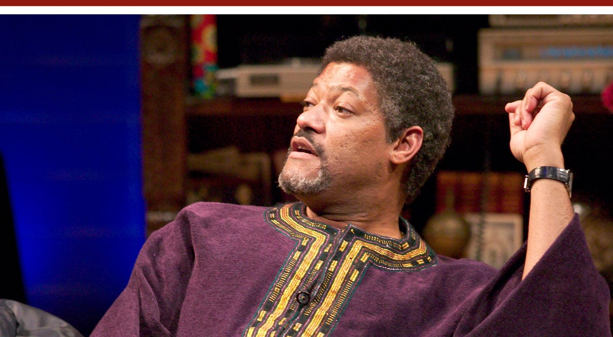 Laurence Fishburne in Without Walls at the Mark Taper Forum; photo by Craig Schwartz