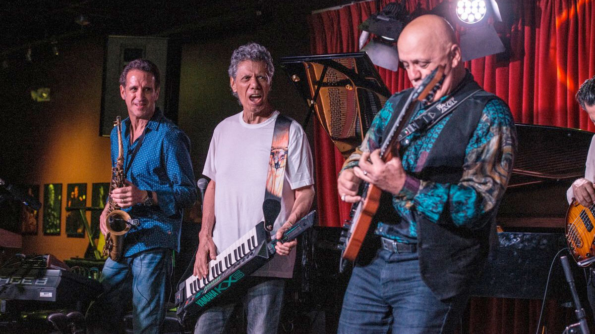 Eric Marienthal, Chick Corea, Frank Gambale at Catalina's Jazz Bar May 2018