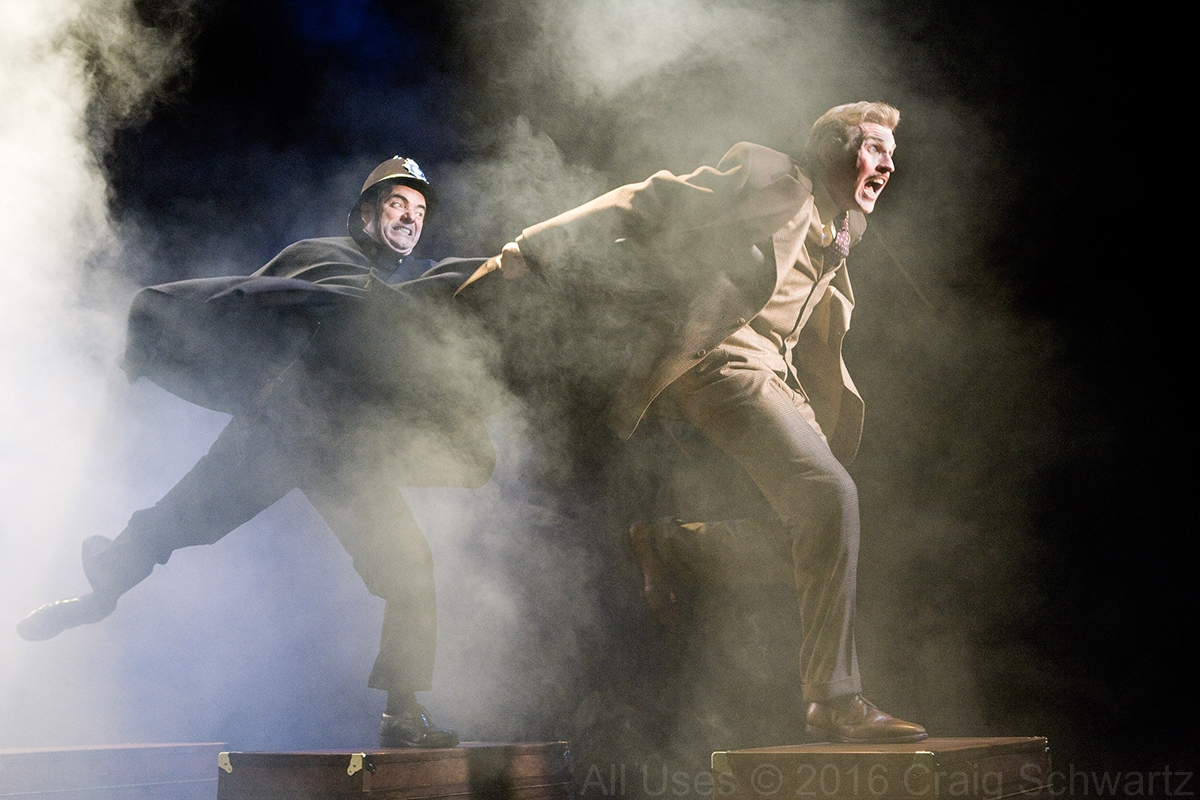 'The 39 Steps' at the La Jolla Playhouse (2009)